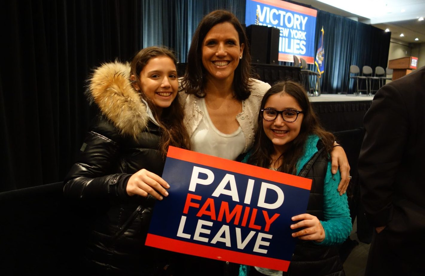 Paid Family Leave Victory Rally