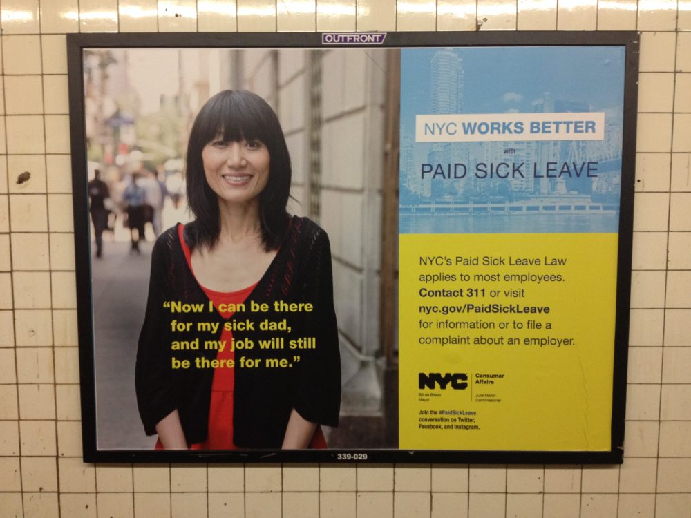 Paid Sick Time For Workers In NYC