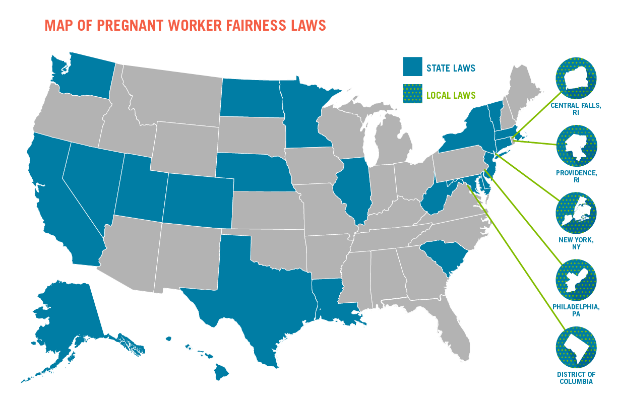 State Pregnant Worker Fairness Laws