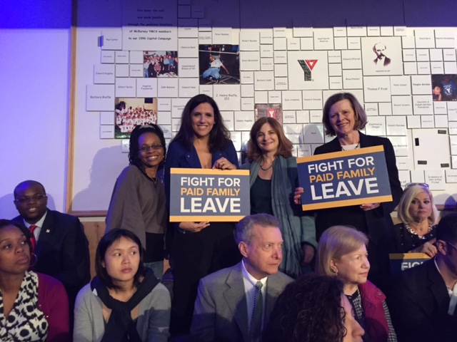 Vice President Biden And Governor Cuomo Champion Paid Family Leave At Manhattan Rally