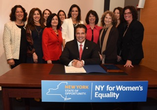 Womens Equality Bill Signing