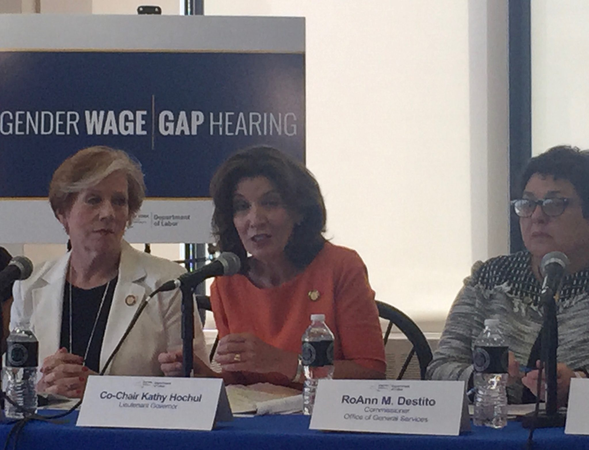 Tackling The Gender Wage Gap In New York