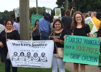 Standing With Poultry Workers Against Dangerous Working Conditions