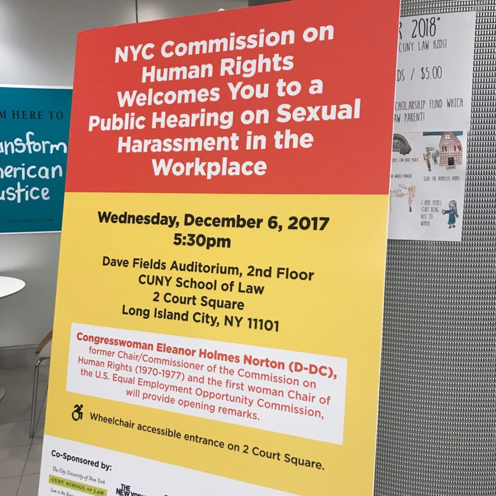 ABB Testifies At NYC Public Hearing On Sexual Harassment In The Workplace