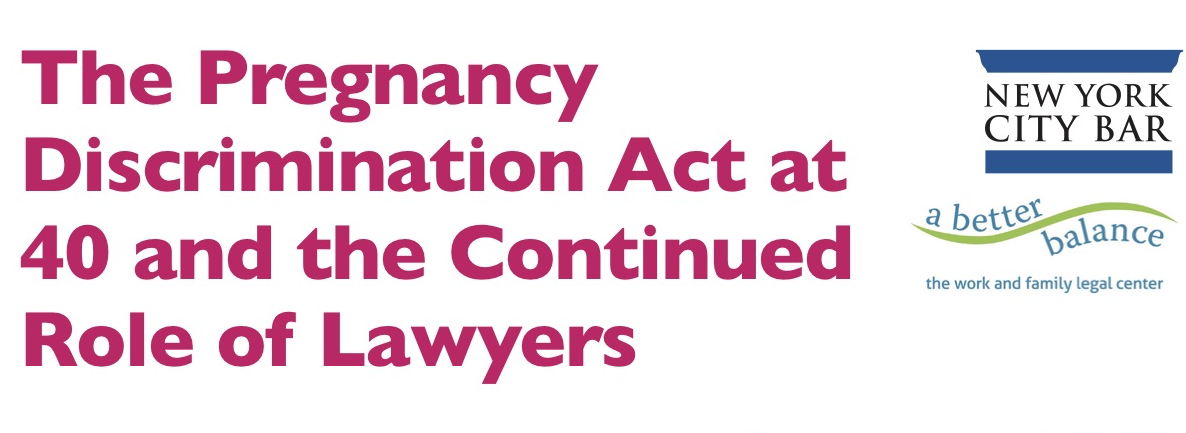 Join Us On October 29th To Mark The 40th Anniversary Of The Pregnancy Discrimination Act