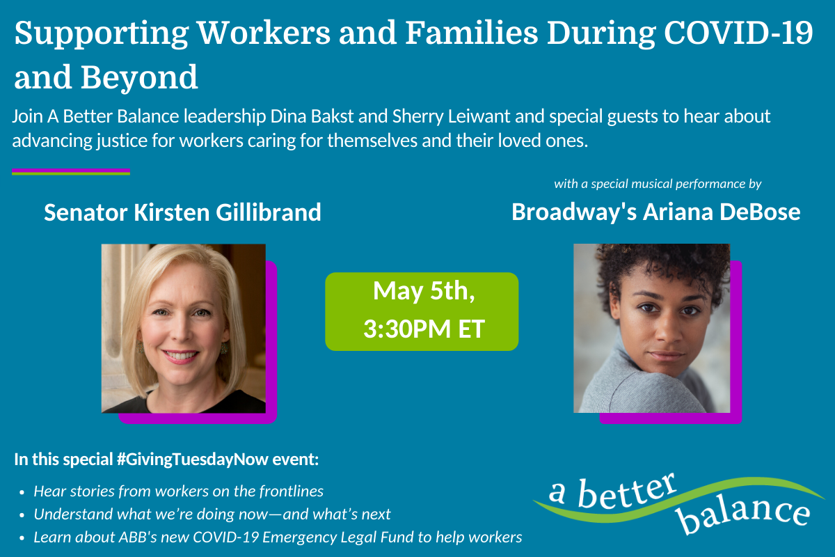 SPECIAL EVENT: Supporting Workers And Families During COVID-19 & Beyond